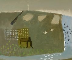 David Pearce Paintings The Old Boathouse Painting