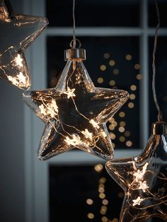 LED Starry Glass Bauble