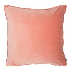 Finally, we've got just the thing if you're looking for a quick style fix or want to add a subtle nod to Pantone's colour of the year. The Luxe cushion is finished in soft velvet in a pretty peach shade that will liven up your living room or bedroom in an instant. Combine this cushion with other colours and patterns for a modern, eclectic look.