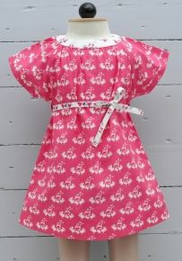 Baby Girl's Dress - Pink Kiss