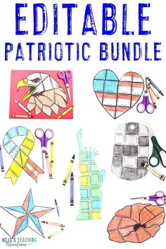 These EDITABLE patriotic puzzles are a great way to show off your American pride any time of year. Use them for Patriots, Veterans, or Memorial Day, for military celebrations, and more. Since YOU control the content they work with a variety of elementary or middle school kids. Click to learn more now! #Elementary #MiddleSchool #HoJoTeaches #Patriotism #VeteransDay #4thofJuly #MilitaryAppreciation #PatriotsDay #MemorialDay #ThankYouVeterans 5th Grade Classroom, Social Studies Classroom, Middle School Classroom, School Kids, Patriots Day Activities, Independence Day Activities, End Of Year Activities, Remembering September 11th, Ell Students
