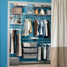 how to organize a small closet for woman