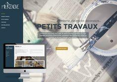Conception du site internet de Mr Rénove. Site dynamique et responsive. #web @joliepub