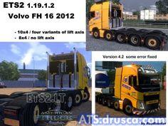 Volvo FH 2012 und Ulferts v American Truck Simulator, Volvo, Trucks, Vehicles, Truck, Car, Vehicle, Tools