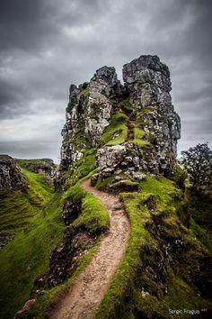 Faeries Path in Scotland - als ik me goed herinner gebruikt in een oude film !
