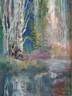 BIRCH REFLECTIONS by Millie Gift Smith