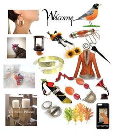 """""""Welcome"""" by anna-recycle ❤ liked on Polyvore featuring modern, rustic and vintage"""