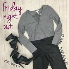 IT'S FRIIIIIDAYYYYYNeed a cute fit for tonight? We got you here at the Harwood Heights locationLook hot af without spending all your cash!