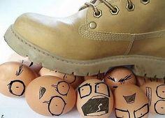 Walking on Eggs...