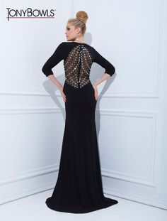 Tony Bowls Evenings Style TBE11418 now in stock at Bri'Zan Couture, www.brizancouture.com