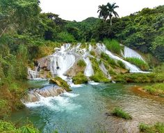 Gorgeous Waterfalls at El Nicho, Cienfuegos Cuba Matanzas Cuba, Varadero Cuba, Trinidad, Fly To Cuba, Cuba Itinerary, Cuba Culture, Cuba Beaches, Havanna, Cheap Places To Travel