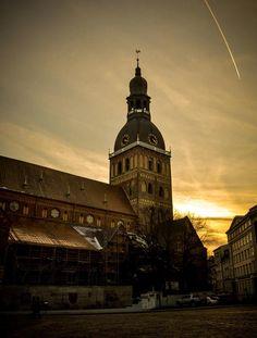 The gorgeous Dome church in Riga!