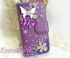bling+leather+case+wallet+for+samsung+galaxy+s3+s4+by+KawaiiZone,+$10.99