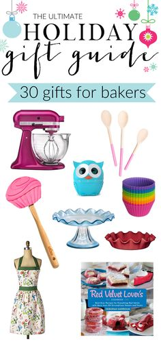 The Ultimate Holiday Gift Guide for Bakers + 22 Additional Holiday Gift Guides and tons of amazing giveaways!!