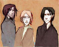 Sirius, Rémus et Severus
