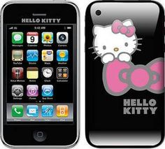 Hello Kitty & Iphone... my life is happy once again!