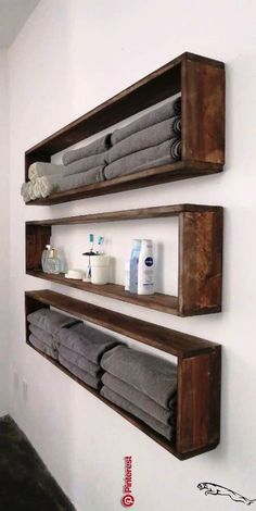47 ideas of shelves for the home that you can make yourself The shelves right . - home accessories - 47 ideas of shelves for the house that you can make yourself The shelves right - deko ideen Diy Design, Home Design, Diy Home Decor On A Budget, Decorating On A Budget, Diy Projects On A Budget, Diy Storage, Diy Organization, Storage Ideas, Wall Shelving