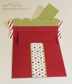 Present Gift Card Holder (Interactive Card)