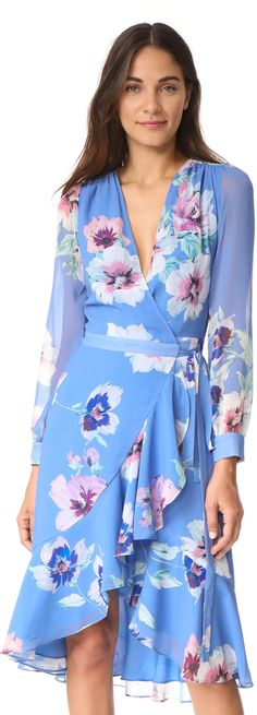 This dress screams Spring!