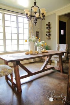 DIY Dining Table plans to build this Restoration Hardware table Furniture Projects, Furniture Plans, Home Projects, Diy Furniture, Lounge Furniture, Furniture Design, Furniture Stores, Luxury Furniture, Diy Living Room Furniture