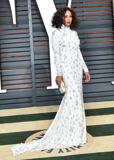 solange-white-dress-vanity-fair-oscar-party-2015