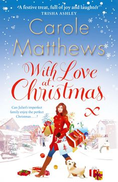 Carole Matthews - With Love at Christmas / #awordfromJoJo #WomensFiction #Chicklit #CaroleMatthews #ContemporaryRomance