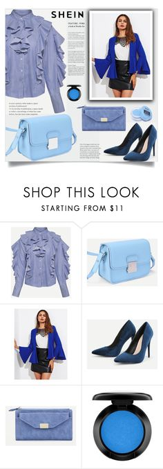 """What to wear?"" by samra-bv ❤ liked on Polyvore featuring MAC Cosmetics and NYX"