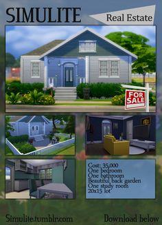 House at Simulite via Sims 4 Updates
