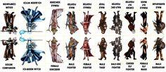 Fantasy Characters 015 - Various Characters