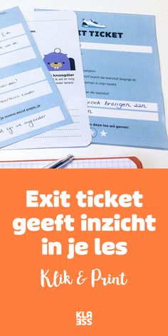 Ontdek snel of je les haar doel bereikt: exit ticket – Klasse Educational Leadership, Educational Technology, Learning Quotes, Education Quotes, Teacher Tools, Teacher Hacks, High School Counseling, Visible Learning, Co Teaching