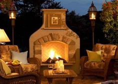 Fireplaces!