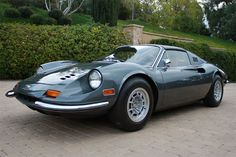 1972 Dino (Ferrari) 246 GTS Serial Number 03916-Front left view