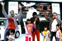 Grazia Day with Mazda at IIMS featuring celeb dads and their kids (the kids are cute, just like their dads!) - September 22, 2012