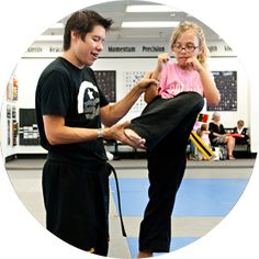 Cesar-Kai Academy has awesome martial arts and self-defense programs that including karate, kickboxing, grappling, and more for kids of many different age groups!