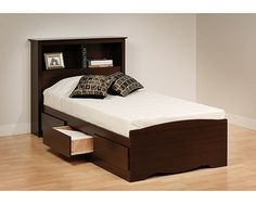13 Adorable Twin Size Bed Frame With Drawers Designs
