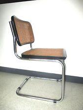 """Chaise """"Cesca"""" B32 design Marcel Breuer. Edition vintage loft atelier fauteuil"""
