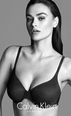 Myla Dalbesio Size 10 Plus-Size Controversy, Calvin Klein Ads