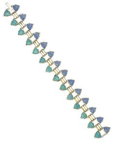 Robby Link Bracelet in Blue Oasis - Kendra Scott Jewelry. Coming April 15!