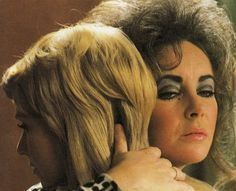 "Susannah York and Elizabeth Taylor in ""Zee & Co."" X, Y and Z, 1972"