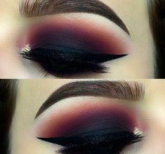 Dark beauty #makeup