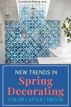 New Trends in Spring Decor - get ready to make your house Spring fresh with these awesome new trends in decorating! Pin now, decorate this weekend!   #spring #decorating