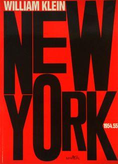Willam Klein: New york 1954-55 ウィリアム・クライン