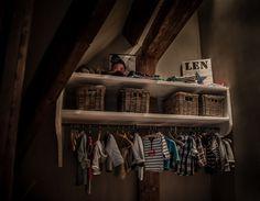 Babyzimmer Len landelijke babykamer met een beetje hoffz en leuke decoratie