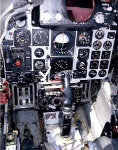 RAF F4 Phantom (F4M/FGR2) cockpit