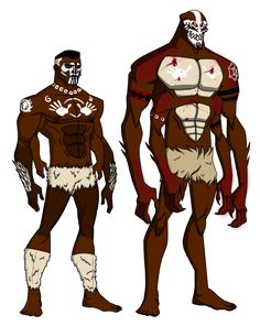 Anansi Evolution by KingLeonUniverse.deviantart.com on @DeviantArt