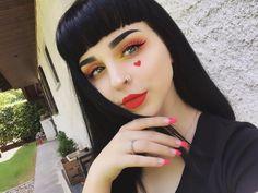 "6,111 Likes, 37 Comments - Amanda Alice (@foxfell) on Instagram: ""Another 100% @katvondbeauty look ✨ Details: Foundation: Lock-it foundation Light 42 Eyeshadow:…"""
