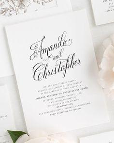 How To Assemble Wedding Invitations Pinterest Weddings Wedding