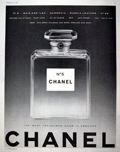 Seven Amazing Vintage Chanel Perfume Adverts
