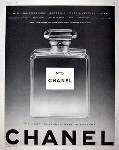 Vintage Chanel No.5 Ad