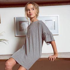 Doin it right in stripes. #dressedinhayden